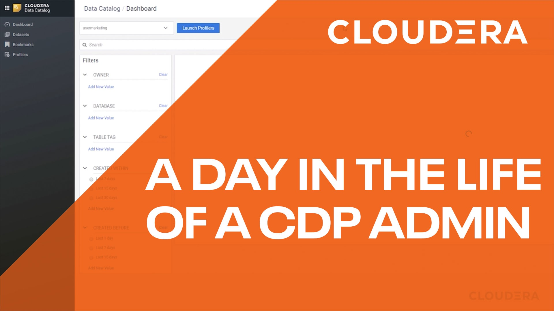 Day in the Life of a Cloudera Data Platform Admin